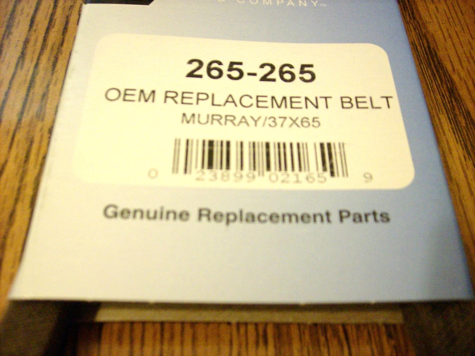 Craftsman, Murray motion drive belt, 37X65, 037X65MA, 37X65MA, rear engine rider