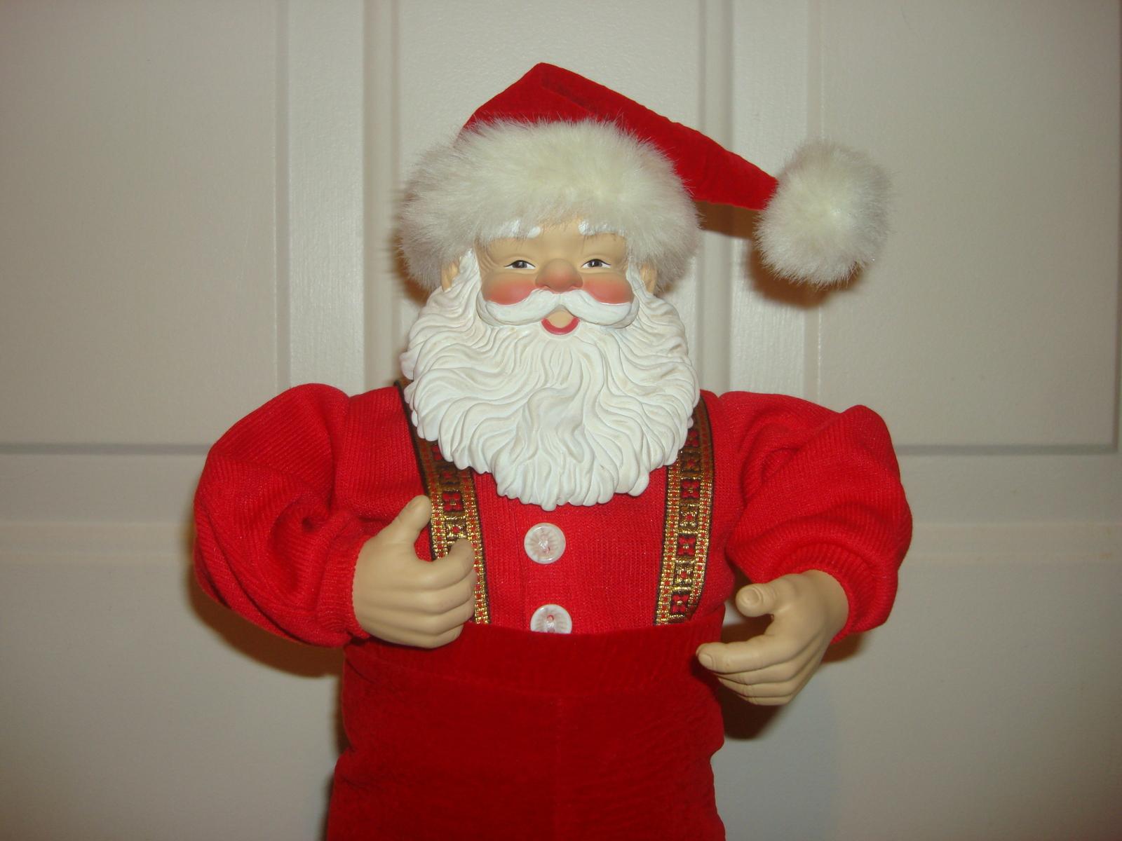 Christmas Fantasy Ltd 1998 JINGLE BELL ROCK Musical Dancing SANTA CLAUS - Santa
