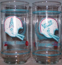 Houston Oilers Glasses from Dairy Queen - $20.00