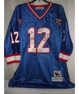 NFL Buffalo Bills 1994 Throwback Authentic #12 Kelly Blue Premier Jersey... - $127.99