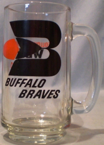 Primary image for Buffalo Braves Glass Mug
