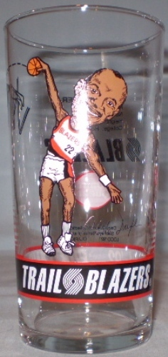 Primary image for Dairy Queen Portland Trailblazers 91-92 Clyde Drexler Glass