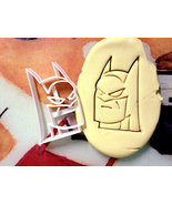Batman Cookie Cutter Stencil Stamp - $13.00