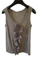 Ann Taylor LOFT Brand Women Clothing Tank Top Size S Fits 2-4 Tan Light ... - $5.90