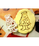Fred Flintstone Cookie Cutter Stencil Stamp - $13.50