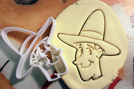 Curious George Man in the Yellow Hat Cookie Cutter Stencil Stamp - £10.00 GBP