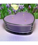 Lavender PURE SOY Heart Container Candle - $12.50
