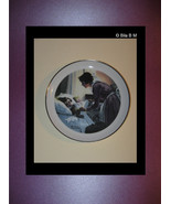 NORMAN ROCKWELL Collector's Plate 6 inches - Mother's Love - Special Edi... - $24.99