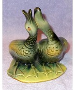 Vintage Hull Pottery Double Duck or Goose Planter 95 - $14.95