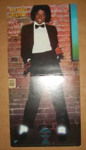 1979 MICHAEL JACKSON OFF THE WALL EPIC QE 38112 LP