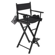 Makeup Artist Directors Chair Tall Professional Foldable Salon Light Weight - $105.58