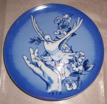 """1979 Spencer Gifts Inc. """"DOVE"""" Plate Made In Japan NWB - $55.14"""