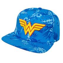Wonder Woman Floral Hat Blue - $19.98
