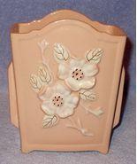 Vintage Hull Rosella White Dogwood Vase R-7-6 - $17.95