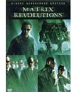 The Matrix Revolutions DVD - $0.00