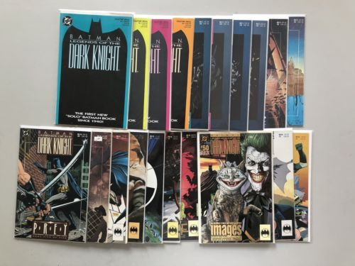 Lot of 20 Batman Legends of the Dark Knight (1989) from #1-56 VF Very Fine