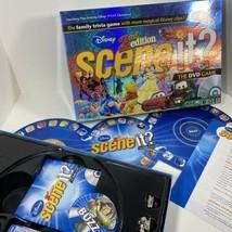 Mattel Disney Scene It 2nd Edition DVD Trivia Board Game 2007 Complete  - $59.35