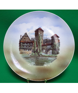"Vintage Decorative Plate Marked ""Germany 281"" Old Nuremberg Henkersteg - $3.95"