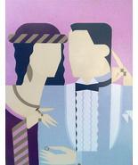 1981 Hand Signed Giancarlo Impiglia Bride & Gro... - $2,852.49