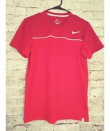Women's Nike Dri-Fit short sleeve Red/white athletic top size small - $9.49