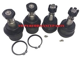 A-Team Performance XRF DODGE RAM 2500 3500 4X4 UPPER & LOWER BALL JOINT SET 00-0