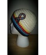 Austism Awareness Handmade Crochet Hat/Beige - $21.00