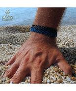 Macrame Bracelet - Bluefish - $42.00