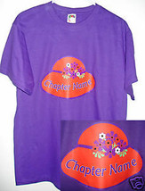 Small   Xl Personalized Chapter T Shirt For The Red Hat Ladies Of Society - $17.07