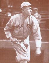 Babe Ruth 1916 Boston Red Sox WB Vintage 11X14 Sepia Baseball Memorabili... - $9.95