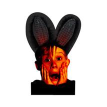 Blinkee Holiday Seasonal Party Decorative Black on Black Bunny Ears - $17.87