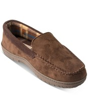 Weatherproof Vintage Men's Moccasins 8-9 BROWN NEW WITH BOX SLIPPERS - $39.60