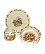 Royal Doulton Bunnykins Nursery Set, Plate Bowl & Mug - $95.00