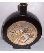 1985 CHOKIN ART CERAMIC VASE SIGNED NAOHISA HOR... - $74.64