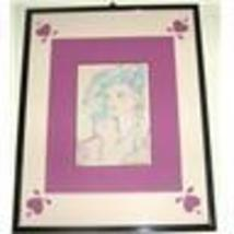 1985 HAND SIGNED PAMELA SIMMS BLUSTEIN PAINTING PRINT - $191.64