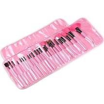 Pink Professional High Quality Full Size 24-Piece Cosmetic Makeup Brush Set - $1.409,50 MXN