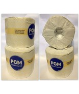POM Toilet Paper 4 Single Rolls Individually Wrapped, 2-Ply 473 Sheets p... - $7.95