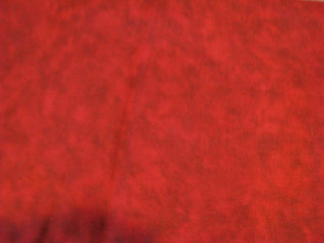 Red Brick Sponge Cotton Fabric