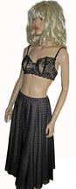 Victoria's Secret $88 Long Black Skirt 4 - $37.00