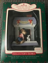 Hallmark Ornament Windows of the World 4th In Series French 1988 - $3.95