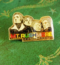 MT. Rushmore Tie Tack Vintage Lapel Pin with Butterfly Clutch South Dako... - $50.00