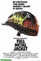 S00  Full metal Jacket movie VHS format 2001 previously viewed