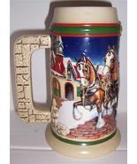 """1988 Budweiser Holiday Stein """"Grant's Farm Holi... - $41.73"""