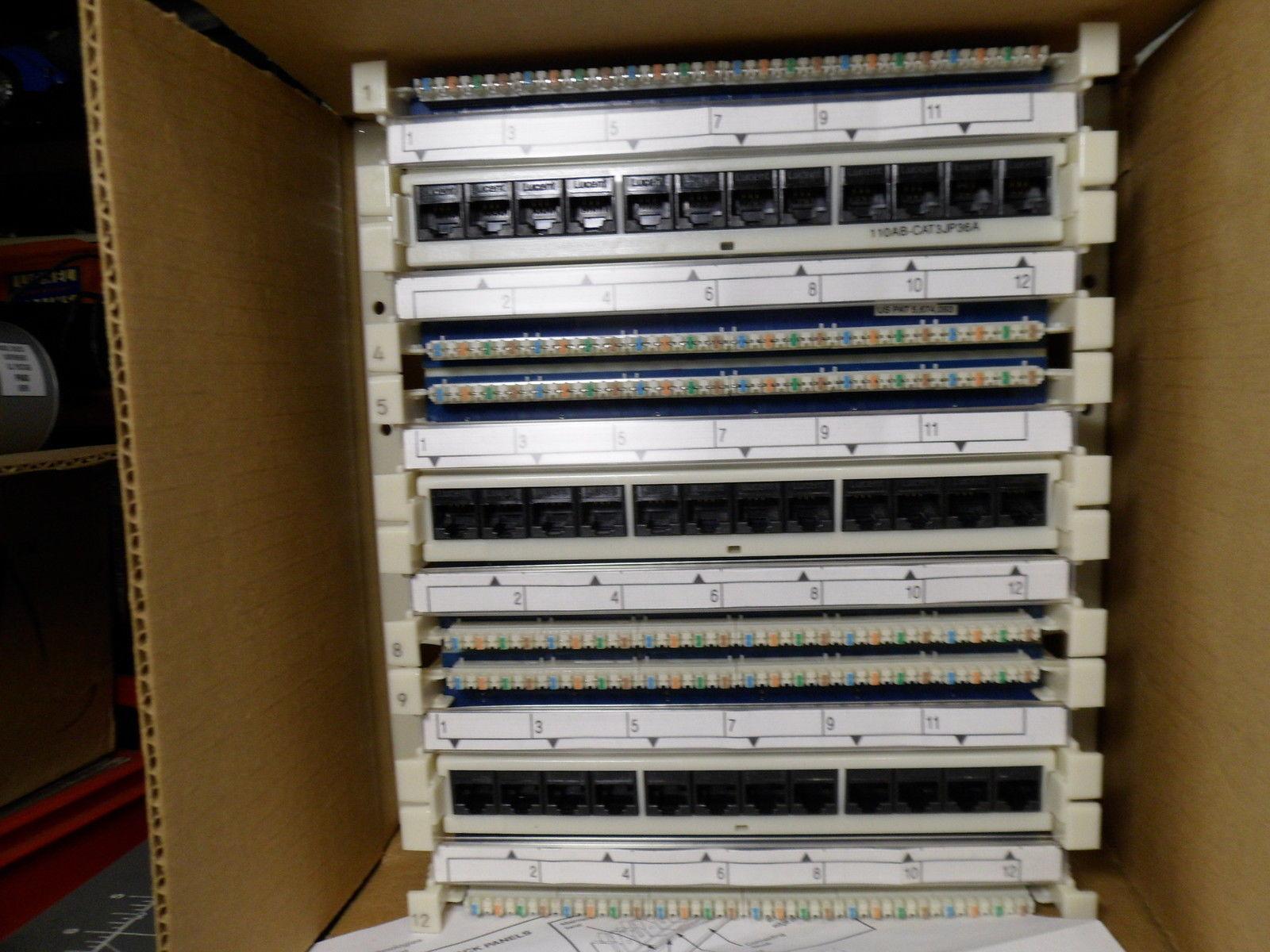 Lucent 110 Cat3 Jack Panel Nib Telephone And Similar Items Cat 3 Wiring Alarm Security Network Etc