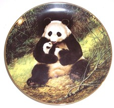 """1988 """"The Panda"""" Endangered Species Plate By Wil Nelson - $45.39"""