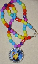 """LEGO MOVIE Bottlecap 20"""" BEADED NECKLACE! Great for birthday party favor... - $3.50"""
