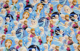 """COMBO SPECIAL- 63 1"""" Precut """"Frozen"""" inspired Elsa/Anna Only images + 60... - $7.00"""