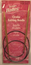 "Susan Bates CIRCULAR KNITTING NEEDLE - NEW - 32"" Sizes 6, 7 or 8 Silverado - $6.99"