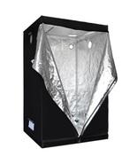 Non Toxic Hydroponics Grow Tent 100% Reflective Mylar Room Hut Large 5*5... - $154.88