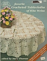 "American School of Needlework ""Favorite Crocheted Tablecloths"" Gently Used - $7.00"