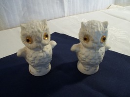 "PAIR OF GOEBEL OWLS - APPROX. 3"" MADE IN W. GERMANY - $13.50"